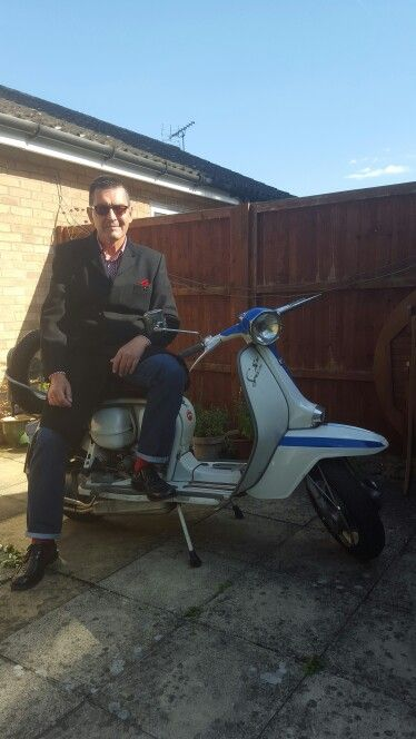Me and my Lambretta