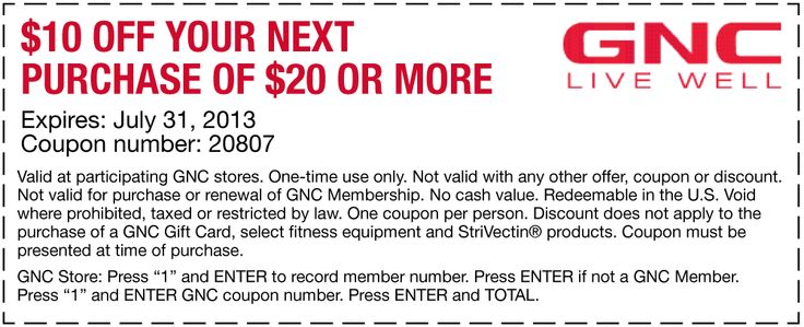 graphic about Gnc Coupons Printable named Gnc coupon code december 2018 / Acquire a endure canada coupon codes