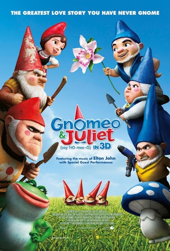 Gnomeo & Juliet (2011) 84 min  -  Animation | Comedy | Family  -  11 February 2011 (USA)