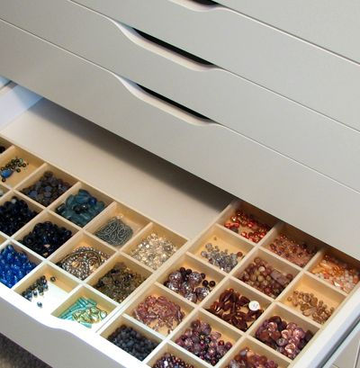 The official blog of the New York Institute of Art and Design - Blog - Organizing Ideas For Your Beads and Jewelry Supplies