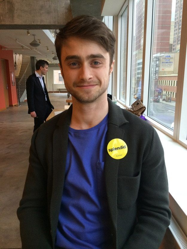 Happy birthday, Dan! Stay amazing. | 25 Times The Internet Fell In Love With Daniel Radcliffe