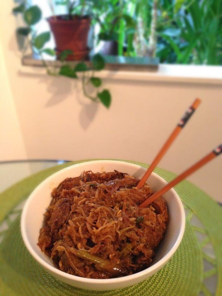 Ragoût Asiatique À La Noix De Coco
