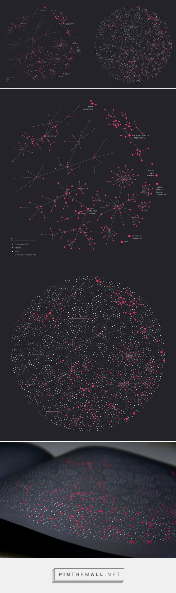 Company structure | data visualization / infographic on Behance... - a grouped images picture - Pin Them All