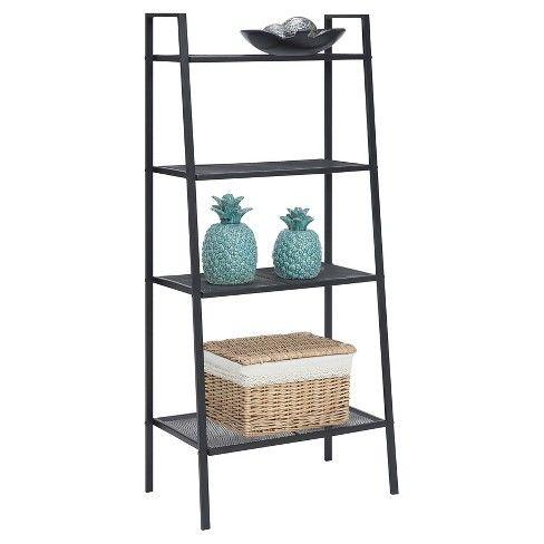 58 27 4 Tier Metal Shelving Johar Furniture Metal Shelves