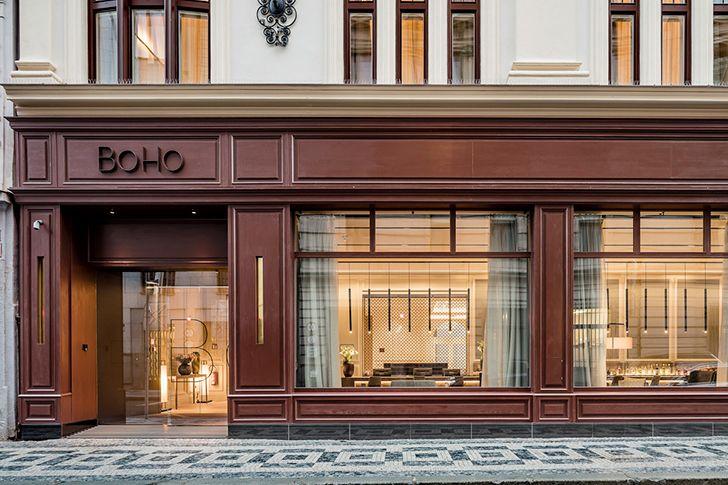 Изысканный BoHo Hotel в Праге   Пуфик - блог о дизайне интерьера