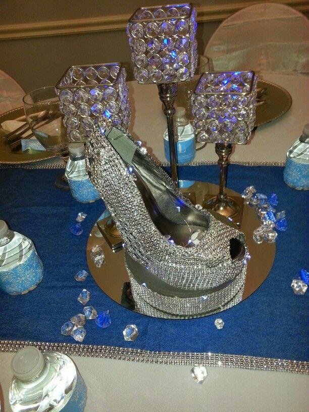 Best 25 denim and diamonds ideas on pinterest royal for Denim centerpieces