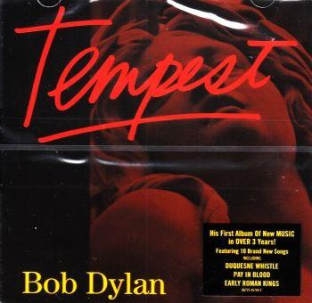 Řadové album zpěváka Bob Dylan - Tempest na cd