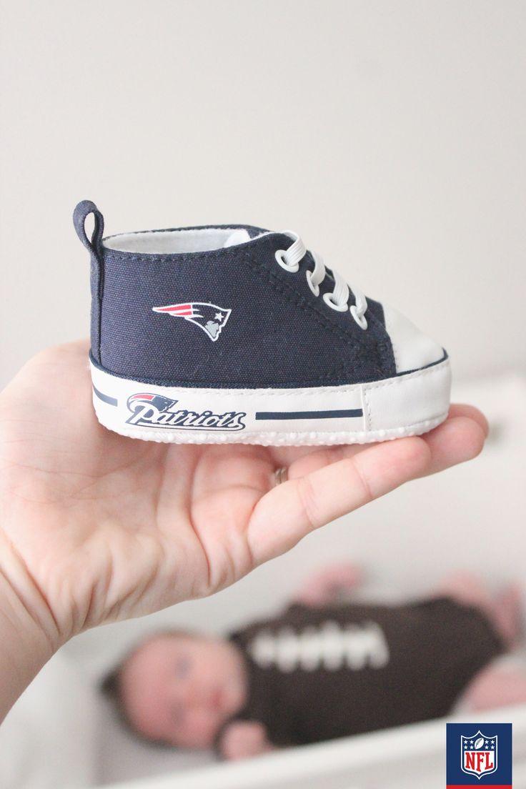 New England Patriots baby booties baby booties infant ... |New England Patriots Crib Shoes