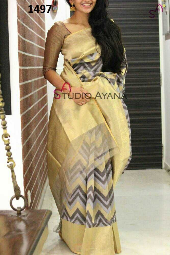 Zarna silk saree with blouse