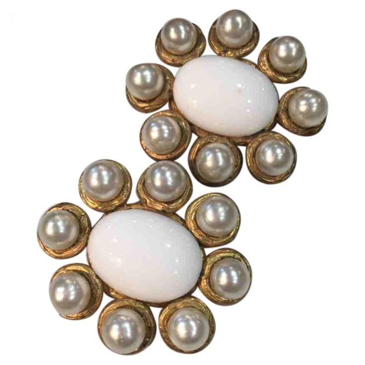 Flower Earrings  Chanel   Catchys