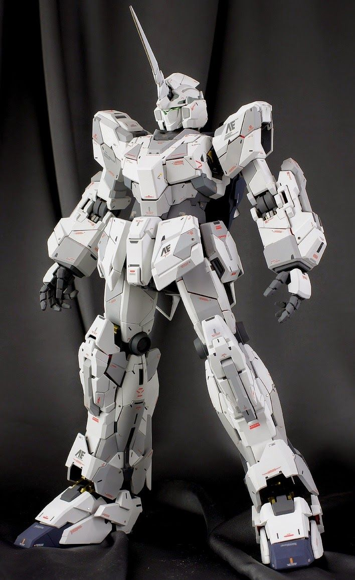 PG 1/60 RX-0 Unicorn Gundam - Painted Build