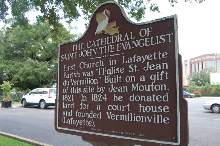 The Cathedral of St. John the Evangelist, Lafayette, Lafayette Parish, Louisiana (in English)