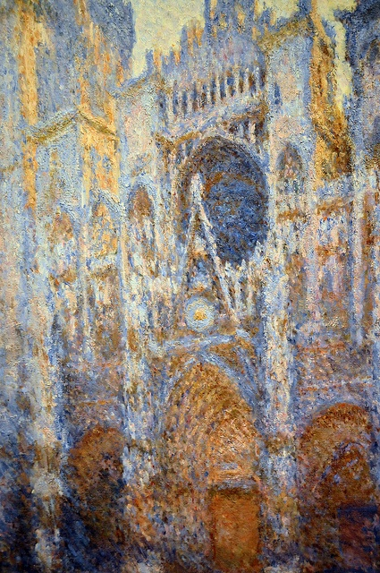 Claude Monet - Rouen Cathedral, West Facade, 1894 - Saw the original and it was magical in a way that no print can ever duplicate.