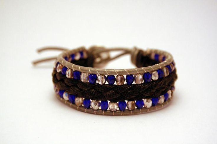 Armband van paardenhaar