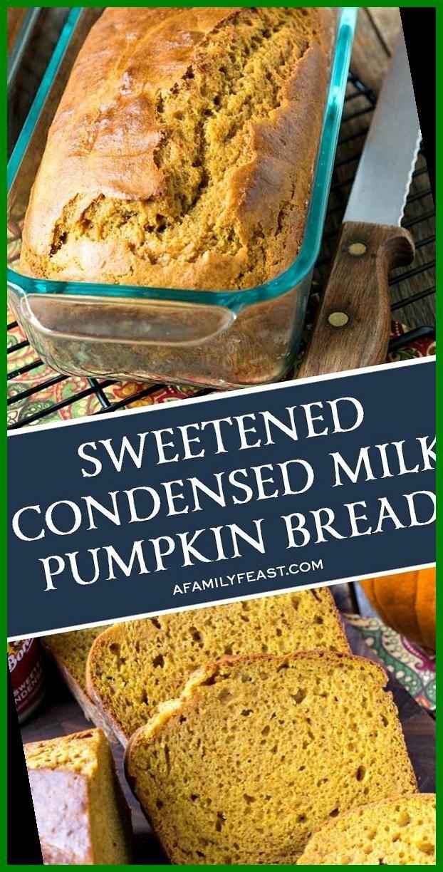 Sweetened Condensed Milk Pumpkin Bread 15 Pumpkin Bread Easy 2020 In 2020 Pumpkin Bread Pumpkin Bread Easy Pumpkin Bread Starbucks Copycat