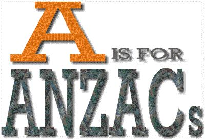 A is for ANZACs opening page