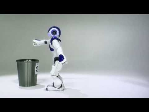 NAO is an autonomous, programmable humanoid robot developed by Aldebaran Robotics (a French company headquartered in Paris). Nao's controlling source code is open source software!