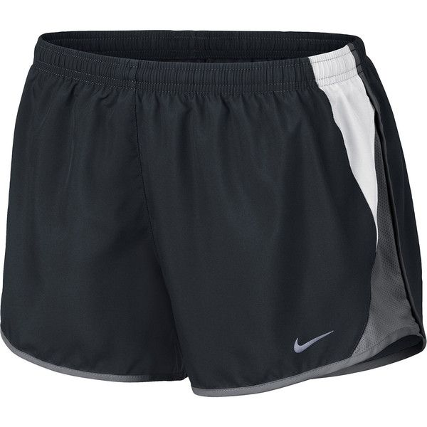 Nike 10K Shorts Black ($24) ❤ liked on Polyvore featuring activewear, activewear shorts, shorts, nike, nike activewear and nike sportswear