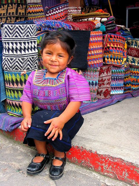 Lago Atitlan - Guatemala | Flickr - Photo Sharing!...her shoes tho! My Guat Tot was ALWAYS putting her shoes on the wrong feet!