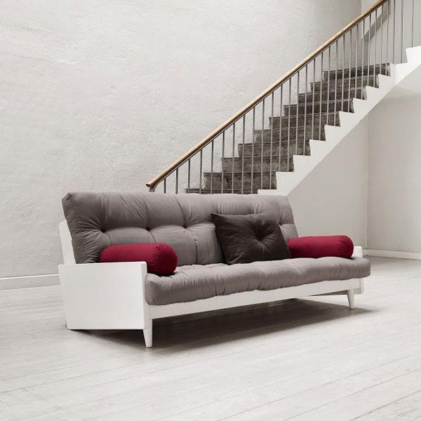 Sofá cama Indie gris