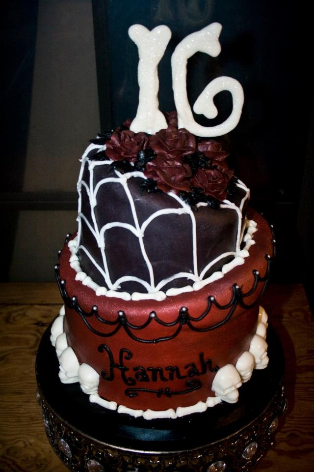 14 best halloween ideas images on Pinterest Sweet 16 birthday - halloween birthday cake ideas