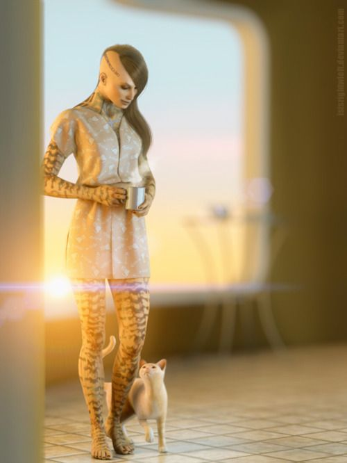 Imgaes of mass effect artwork | Jack's morning , Mass Effect fan art by Isisrightwleft .