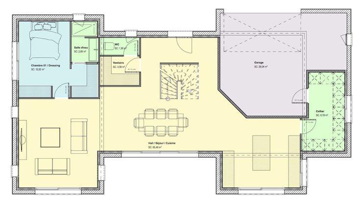 22 best Plans De Maison images on Pinterest Contemporary homes