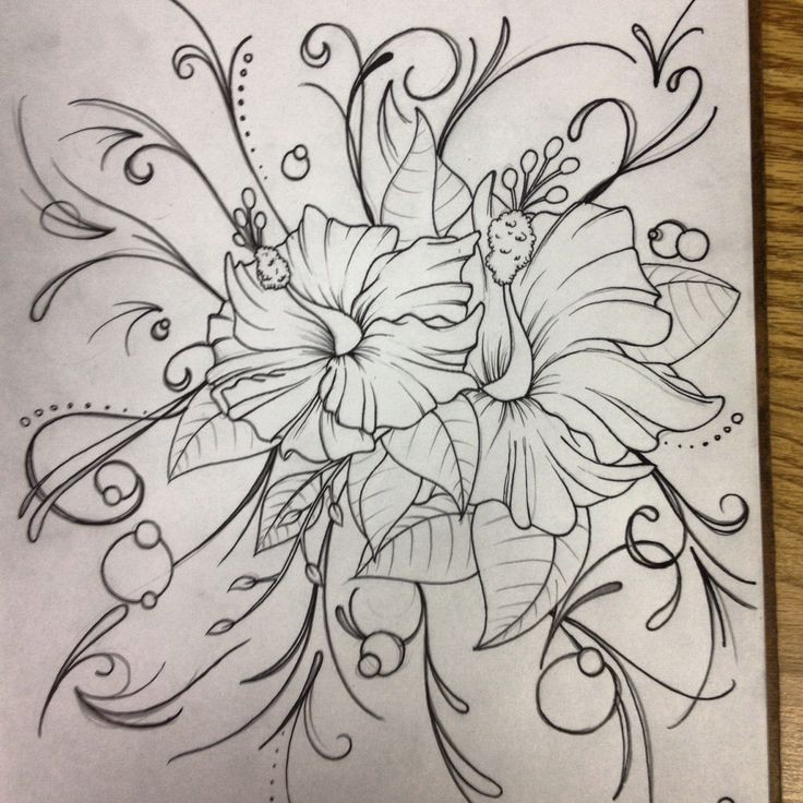 Girly tattoo design | tattoo sketch | Pinterest | Girly ...