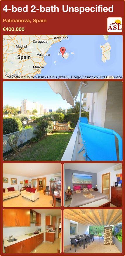 4-bed 2-bath Unspecified in Palmanova, Spain ►€400,000 #PropertyForSaleInSpain