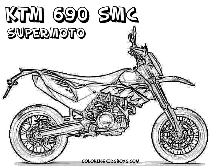 14 best printable coloring pages images on pinterest | drawings ... - Dirt Bike Coloring Pages Print