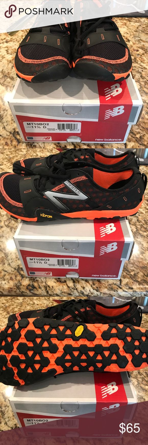 NIB Men's New Balance Minimus Sz 11.5 US No flaws. Night for boyfriend and too small. Past the return window so selling. New Balance Shoes Sneakers
