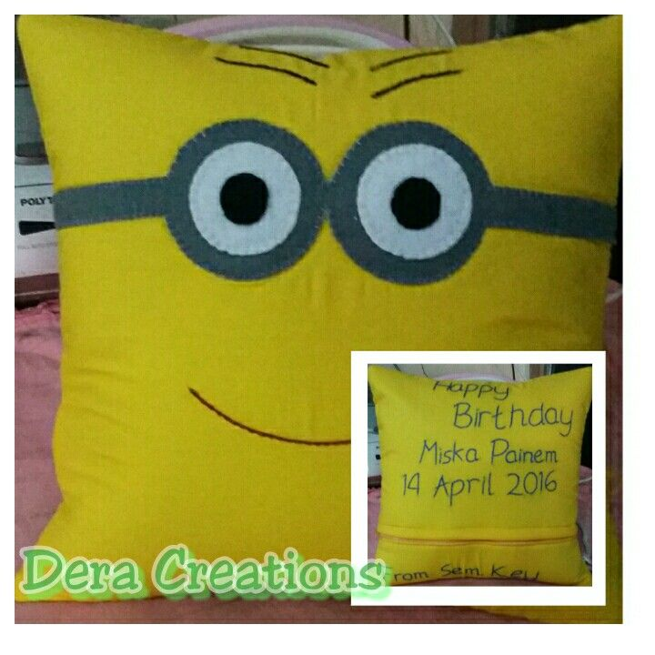 Bantal minion#PhotoGrid