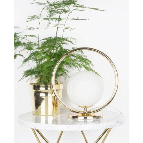 Globen Lighting Saint Mini Messing Vegg-/Bordlampe