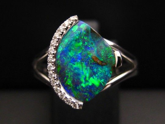 17 Best Images About Opal Jewelry On Pinterest Brooches