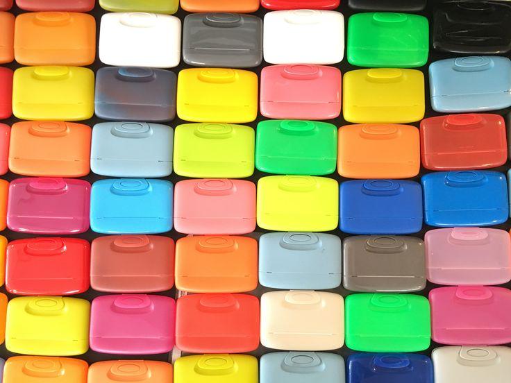 Vintage colored Caspsul Case   wallet   multipurpose case