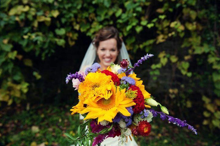 Ridings wedding... Garden Gate Flowers Gentry Arkansas