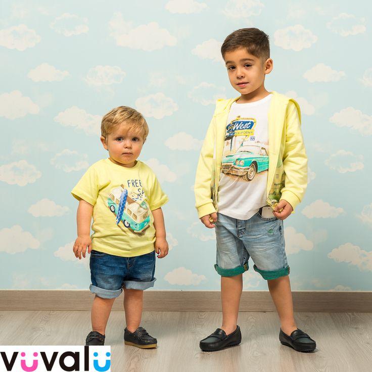 #Outfit de niños para el tiempo libre, todo de la marca #Mayoral