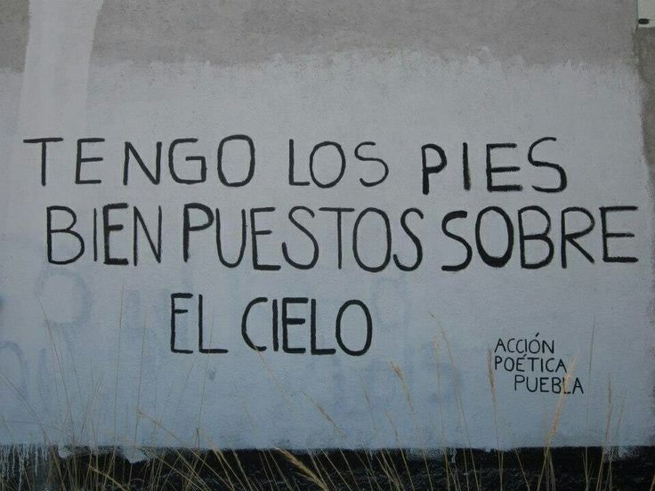 Tengo los pies bien puestos sobre el cielo #AcciónPoética #Puebla