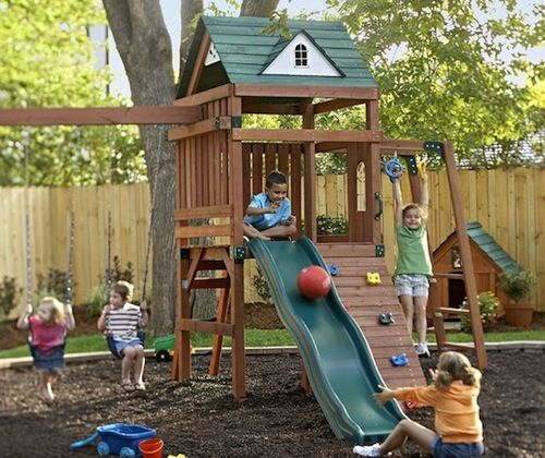 Backyard Kids Area Ideas
