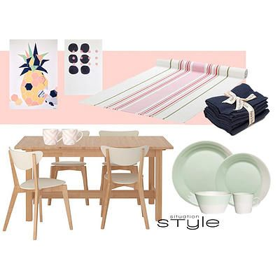 """""""Fuzzy Peach"""" Go to www.situationstyle.com.au for product details and suppliers"""