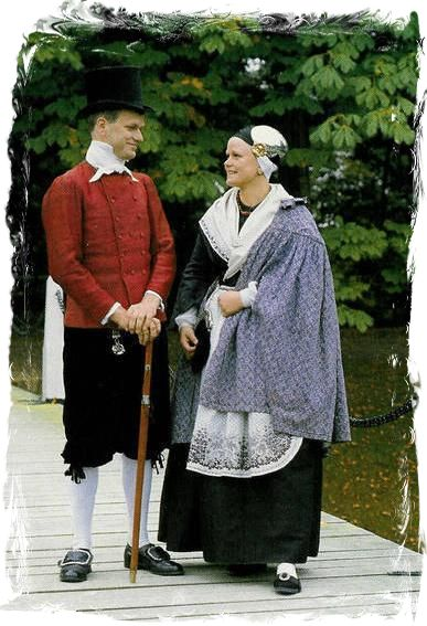one of the costumes of the province of Groningen