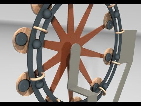 movimiento perpetuo - machine - perpetual move - YouTube