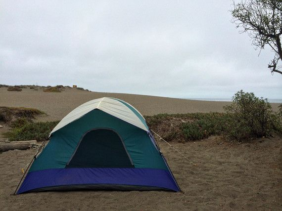 The 5 Best Beach Camping Spots in America.  Wright's Beach, Sonoma Coast STate Park.