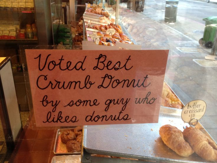 My local donut shop earned the acclaim of the highest authority. - Imgur