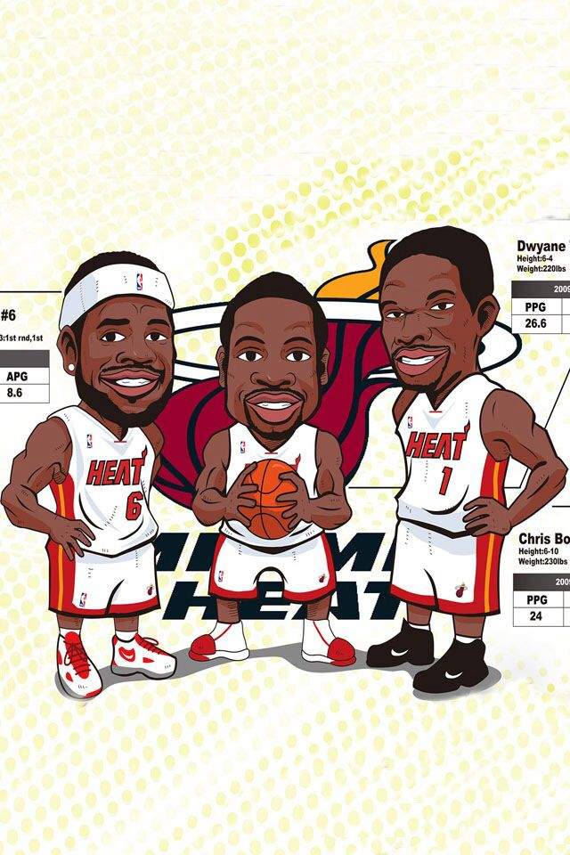 The Big Three... NOT!!!!! Unless they magically turn to Tony Parker, Tim Duncan, and Manu Ginobli
