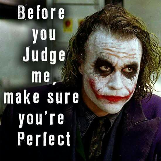 if only everyone thought like this | Best joker quotes ...