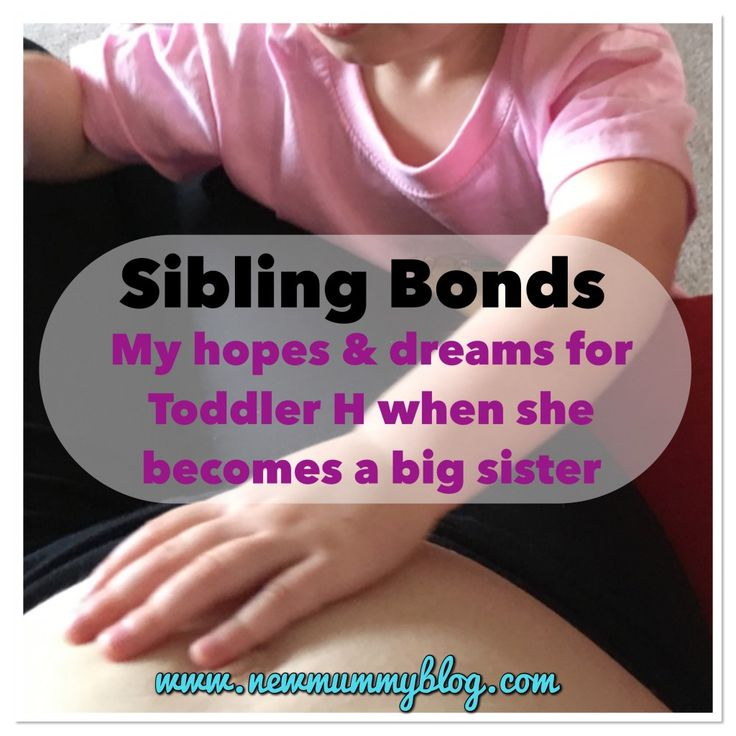 A post from a mummy pregnant with her second baby - her hopes and dreams for her toddler becoming a big sister. The sibling bond. Parenting two children.