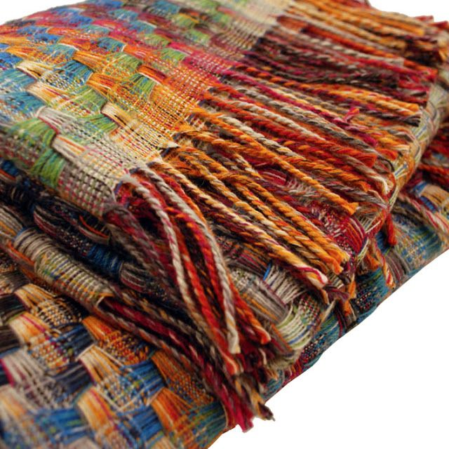 missoni; beautiful!... now how do I weave that pattern??
