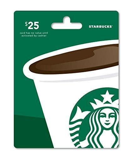 Starbucks Gift Card $25 - Packaging may vary