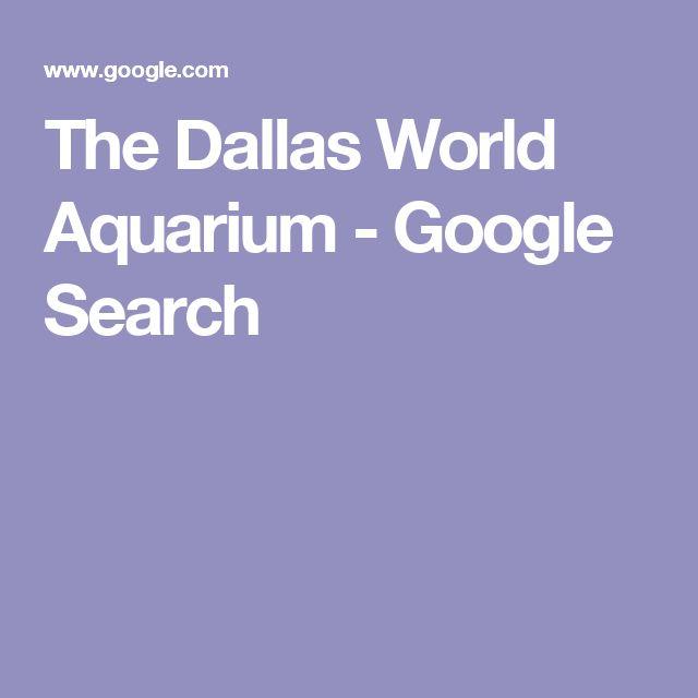 17 Best Ideas About Dallas World Aquarium On Pinterest
